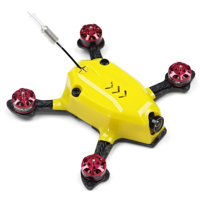 KingKong 95GT 95mm Micro FPV Racing DroneBrushless FPV Racer<br>KingKong 95GT 95mm Micro FPV Racing Drone<br><br>Battery (mAh): 350mAh<br>Battery Coulomb: 35C<br>Brand: KingKong<br>Charging Time.: about 1 hour<br>Firmware: BLHeli-S<br>Flight Controller Type: F3<br>Flying Time: 6-10mins<br>Functions: Oneshot42, Multishot, DShot600, DShot300, Oneshot125, DShot150<br>Input Voltage: 2 - 3S<br>KV: 7800<br>Model: 1103<br>Motor Type: Brushless Motor<br>No. of Cells: 2 - 3S<br>Package Contents: 1 x Frame Kit ( Battery Included ), 1 x USB Cable, 1 x Battery Strap, 4 x Propeller, 4 x Propeller Guard, 1 x Spare Canopy, 1 x Set of Fittings<br>Package size (L x W x H): 16.60 x 12.60 x 6.10 cm / 6.54 x 4.96 x 2.4 inches<br>Package weight: 0.4520 kg<br>Product size (L x W x H): 9.10 x 11.10 x 2.30 cm / 3.58 x 4.37 x 0.91 inches<br>Product weight: 0.0502 kg<br>Sensor: CMOS<br>Size: Micro<br>Type: Frame Kit<br>Version: ARF<br>Video Resolution: 800TVL ( horizontal )