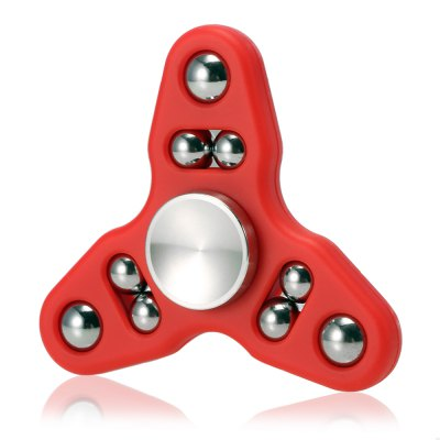 9-ball Tri-spinner Hand Spinner Fidget Toy Stress Reliever Tool