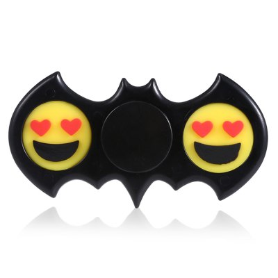 EMOJI Bat Fidget Spinner with Smile Face Stress Reliever ToyFidget Spinners<br>EMOJI Bat Fidget Spinner with Smile Face Stress Reliever Toy<br><br>Center Bearing Material: Stainless Steel Bearing<br>Package Contents: 1 x Fidget Spinner<br>Package size (L x W x H): 9.00 x 5.00 x 3.00 cm / 3.54 x 1.97 x 1.18 inches<br>Package weight: 0.0500 kg<br>Product size (L x W x H): 8.00 x 4.00 x 1.20 cm / 3.15 x 1.57 x 0.47 inches<br>Product weight: 0.0270 kg<br>Swing Numbers: Dual Bar<br>Type: Dual Blade