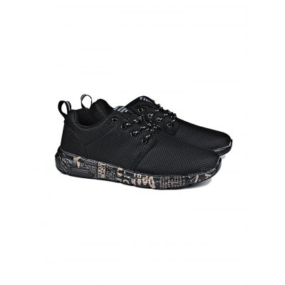 Mesh Breathable Lace Up Men Sports ShoesHiking Shoes<br>Mesh Breathable Lace Up Men Sports Shoes<br><br>Contents: 1 x Pair of Shoes<br>Materials: Mesh, Rubber<br>Occasion: Casual<br>Package Size ( L x W x H ): 31.00 x 18.50 x 11.00 cm / 12.2 x 7.28 x 4.33 inches<br>Package Weights: 0.58kg<br>Seasons: Summer<br>Style: Leisure<br>Type: Casual Shoes
