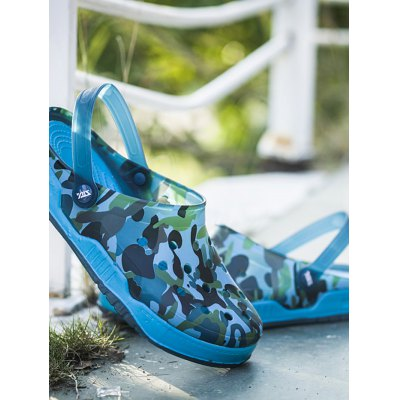 Breathable Camouflage Casual Beach SandalsMens Slippers<br>Breathable Camouflage Casual Beach Sandals<br><br>Contents: 1 x Pair of Shoes<br>Materials: EVA<br>Occasion: Casual<br>Package Size ( L x W x H ): 31.00 x 18.50 x 11.00 cm / 12.2 x 7.28 x 4.33 inches<br>Package Weights: 0.43kg<br>Seasons: Summer<br>Style: Leisure<br>Type: Sandals