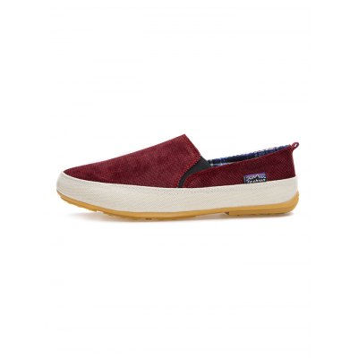 Men Canvas Slip On Leisure ShoesCasual Shoes<br>Men Canvas Slip On Leisure Shoes<br><br>Contents: 1 x Pair of Shoes<br>Materials: Canvas, Rubber<br>Occasion: Casual<br>Package Size ( L x W x H ): 33.00 x 18.00 x 12.00 cm / 12.99 x 7.09 x 4.72 inches<br>Package Weights: 0.83kg<br>Seasons: Summer<br>Style: Leisure<br>Type: Casual Shoes