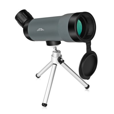 BIJIA 20 x 50mm MonocularBinoculars and Telescopes<br>BIJIA 20 x 50mm Monocular<br><br>Amplification Factor: 20X<br>Brand: BIJIA<br>Close Focus Distance: 5m<br>Coating Film: FMC<br>Exit pupil diameter: 5.3mm<br>Exit pupil distance: 17.5mm<br>Eyepiece Diameter: 16mm<br>Features: Waterproof, Bracket Interface<br>Field Angle(degree): 51m / 1000m, 153ft / 100yds<br>Field of view: 7 degree<br>For: Travel, Astronomy, Bird watching, Boating/Yachting, Horse racing, Theater<br>Material: ABS<br>Objective Lens (mm) : 50mm<br>Optical Material: BK-7<br>Package Contents: 1 x BIJIA Monocular, 1 x Triangle Support, 1 x Cleaning Cloth, 1 x Storage Bag<br>Package size (L x W x H): 23.00 x 11.50 x 7.60 cm / 9.06 x 4.53 x 2.99 inches<br>Package weight: 0.5500 kg<br>Prism System: Roof System<br>Product size (L x W x H): 21.00 x 60.00 x 70.00 cm / 8.27 x 23.62 x 27.56 inches<br>Product weight: 0.2220 kg<br>Type: Monocular Telescope