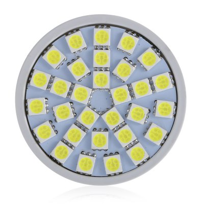 Teso 10PCS 30 LEDs Spot Light BulbSpot Bulbs<br>Teso 10PCS 30 LEDs Spot Light Bulb<br><br>Available Light Color: White<br>Features: Energy Saving, Non-dimmable<br>Function: playing fields, Outdoor lighting,  including building and landscape beautification,  public places,  stage lighting<br>Holder: GU5.3<br>Package Contents: 10 x Teso GU5.3 White Light Spot Light Bulb<br>Package size (L x W x H): 26.00 x 6.30 x 10.40 cm / 10.24 x 2.48 x 4.09 inches<br>Package weight: 0.2200 kg<br>Product size (L x W x H): 4.90 x 5.00 x 3.00 cm / 1.93 x 1.97 x 1.18 inches<br>Product weight: 0.1400 kg<br>Sheathing Material: PC<br>Type: Spot Bulbs<br>Voltage (V): DC 12