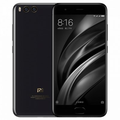 Xiaomi Mi 6 4G Smartphone  -  CERAMIC VERSION 6GB RAM 128GB ROM  BLACK в магазине GearBest