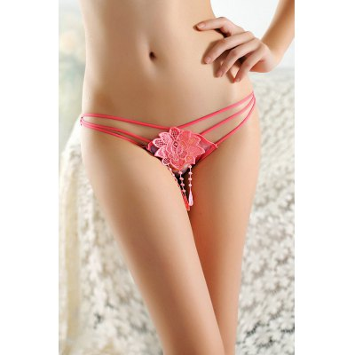 Sexy Mesh Panties with Big Flower DecorationBottoms<br>Sexy Mesh Panties with Big Flower Decoration<br><br>Material: Polyamide, Spandex<br>Package Contents: 1 x Underwear<br>Package size: 15.00 x 15.00 x 2.00 cm / 5.91 x 5.91 x 0.79 inches<br>Package weight: 0.0410 kg<br>Product weight: 0.0200 kg