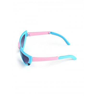 Cute Cartoon Foldable Sunglasses for KidsStylish Sunglasses<br>Cute Cartoon Foldable Sunglasses for Kids<br><br>For: Other Outdoor Activities, All kinds of sports, Climbing, Cycling, Home use<br>Frame material: Plastic<br>Functions: UV Protection<br>Glasses width: 125mm<br>Lens height: 30mm<br>Lens material: Resin<br>Lens width: 55mm<br>Package Contents: 1 x Pair of Sunglasses, 1 x Box<br>Package size (L x W x H): 17.00 x 8.00 x 6.00 cm / 6.69 x 3.15 x 2.36 inches<br>Package weight: 0.0900 kg<br>Product size (L x W x H): 12.50 x 5.00 x 4.50 cm / 4.92 x 1.97 x 1.77 inches<br>Product weight: 0.0230 kg<br>Strap Length: 125mm<br>Type: Fashion Sunglasses