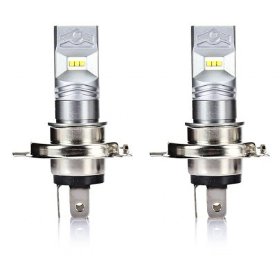 2PCS CSP - 6SMD H4 6 CSP1919 LED Fog Light Car Lamp