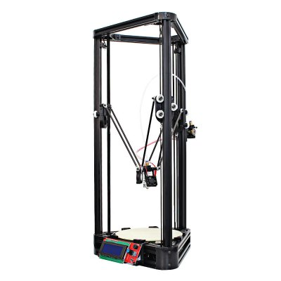 Anycubic Kossel Upgraded Pulley Version Unfinished 3D Printer3D Printers, 3D Printer Kits<br>Anycubic Kossel Upgraded Pulley Version Unfinished 3D Printer<br><br>Brand: Anycubic<br>Certificate: CE,FCC,RoHs<br>Engraving Area: 180mm x 180mm x 320mm<br>File format: DAE, OBJ, STL, AMF<br>Host computer software: Cura<br>Layer thickness: 0.1-0.4mm<br>LCD Screen: Yes<br>Material diameter: 1.75mm<br>Memory card offline print: SD card<br>Model: Kossel<br>Nozzle diameter: 0.4mm<br>Nozzle quantity: Single<br>Package size: 72.00 x 28.00 x 13.00 cm / 28.35 x 11.02 x 5.12 inches<br>Package weight: 7.5000 kg<br>Packing Contents: 1 x 3D Printer Kit, 1 x 1kg PLA Printer Material ( Color Random ), 1 x Printer Material Bracket<br>Packing Type: unassembled packing<br>Platform board: Aluminum Sheet<br>Print speed: 20 - 80mm/s<br>Product size: 31.50 x 31.50 x 68.00 cm / 12.4 x 12.4 x 26.77 inches<br>Product weight: 6.0000 kg<br>Supporting material: ABS, Nylon, PLA, Wood<br>Type: DIY<br>Voltage: 110V/220V