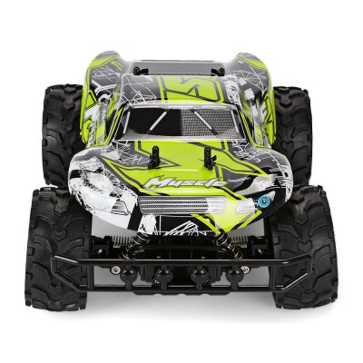 RUI CHUANG QY1841B 1:12 Brushed Off-road RC Car - RTRRC Cars<br>RUI CHUANG QY1841B 1:12 Brushed Off-road RC Car - RTR<br><br>Age: Above 8 years old<br>Brand: RUI CHUANG<br>Car Power: 5 x 1.5V AA battery ( not included )<br>Channel: 4-Channels<br>Detailed Control Distance: About 50m<br>Drive Type: RWD ( rear-wheel drive )<br>Features: Radio Control<br>Material: Electronic Components, PVC, TPR, ABS<br>Motor Type: Brushed Motor<br>Package Contents: 1 x RC Car, 1 x Transmitter, 1 x English Manual<br>Package size (L x W x H): 45.50 x 28.00 x 21.00 cm / 17.91 x 11.02 x 8.27 inches<br>Package weight: 1.6000 kg<br>Product size (L x W x H): 33.50 x 23.00 x 13.50 cm / 13.19 x 9.06 x 5.31 inches<br>Product weight: 0.9550 kg<br>Proportion: 1:12<br>Racing Time: 10-12mins<br>Remote Control: 2.4GHz Wireless Remote Control<br>Speed: 18km/h ( maximum )<br>Transmitter Power: 1 x 9V battery ( not included )<br>Type: Off-Road Car