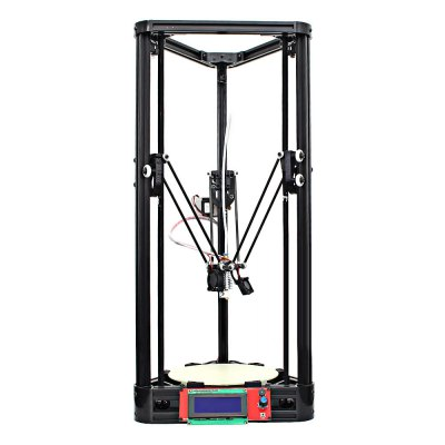 Anycubic Kossel Upgraded Pulley Version Unfinished 3D Printer3D Printers, 3D Printer Kits<br>Anycubic Kossel Upgraded Pulley Version Unfinished 3D Printer<br><br>Brand: Anycubic<br>Certificate: CE,FCC,RoHs<br>Engraving Area: 180mm x 180mm x 320mm<br>File format: DAE, OBJ, STL, AMF<br>Host computer software: Cura<br>Layer thickness: 0.1-0.4mm<br>LCD Screen: Yes<br>Material diameter: 1.75mm<br>Memory card offline print: SD card<br>Model: Kossel<br>Nozzle diameter: 0.4mm<br>Nozzle quantity: Single<br>Package size: 72.00 x 28.00 x 13.00 cm / 28.35 x 11.02 x 5.12 inches<br>Package weight: 14.0700 kg<br>Packing Contents: 1 x 3D Printer Kit, 1 x 1kg PLA Printer Material ( Color Random ), 1 x Printer Material Bracket<br>Packing Type: unassembled packing<br>Platform board: Aluminum Sheet<br>Print speed: 20 - 80mm/s<br>Product size: 31.50 x 31.50 x 68.00 cm / 12.4 x 12.4 x 26.77 inches<br>Product weight: 6.0000 kg<br>Supporting material: ABS, Nylon, PLA, Wood<br>Type: DIY<br>Voltage: 110V/220V
