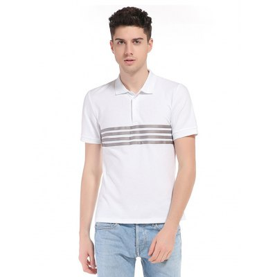 WHATLEES Striped T Shirt