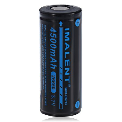 1x IMALENT MRB-266P45 26650 4500mAh Battery
