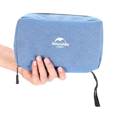 NatureHike Travel Storage BagOther Sports Gadgets<br>NatureHike Travel Storage Bag<br><br>Brand: NatureHike<br>For: Indoor, Travel, Vocation<br>Material: Nylon<br>Package Contents: 1 x NatureHike Storage Bag, 1 x Mirror<br>Package size (L x W x H): 23.00 x 15.00 x 4.00 cm / 9.06 x 5.91 x 1.57 inches<br>Package weight: 0.2150 kg<br>Product size (L x W x H): 22.00 x 14.00 x 8.00 cm / 8.66 x 5.51 x 3.15 inches<br>Product weight: 0.1750 kg<br>Season: All seasons
