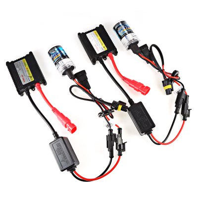9006 55W HID Xenon Conversion KitCar Lights<br>9006 55W HID Xenon Conversion Kit<br><br>Adaptable automobile mode: Universal<br>Apply lamp position : External Lights<br>Color temperatures: 8000K<br>Connector: 9006<br>Lumens: 2300 - 2700LM<br>Package Contents: 2 x Xenon Lamp, 2 x Ballast, 1 x English User Manual<br>Package size (L x W x H): 22.00 x 18.00 x 7.00 cm / 8.66 x 7.09 x 2.76 inches<br>Package weight: 0.3400 kg<br>Product size (L x W x H): 11.00 x 7.00 x 3.50 cm / 4.33 x 2.76 x 1.38 inches<br>Product weight: 0.2600 kg<br>Type of lamp-house : Xenon