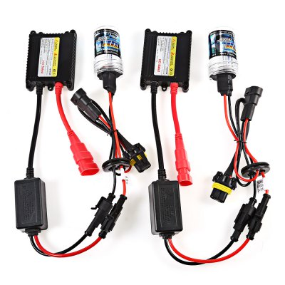 9005 55W HID Xenon LED Headlight Conversion KitCar Lights<br>9005 55W HID Xenon LED Headlight Conversion Kit<br><br>Adaptable automobile mode: Universal<br>Apply lamp position : External Lights<br>Color temperatures: 5000K<br>Connector: 9005<br>Lumens: 2800 - 3100LM<br>Package Contents: 2 x Xenon Lamp, 2 x Ballast, 6 x Screw, 6 x Nut, 1 x English User Manual<br>Package size (L x W x H): 22.00 x 18.00 x 7.00 cm / 8.66 x 7.09 x 2.76 inches<br>Package weight: 0.3400 kg<br>Product size (L x W x H): 11.00 x 7.00 x 3.50 cm / 4.33 x 2.76 x 1.38 inches<br>Product weight: 0.2600 kg<br>Type of lamp-house : Xenon