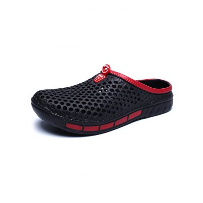 Men Hollow Out Breathable PVC Slippers Beach SandalsMens Slippers<br>Men Hollow Out Breathable PVC Slippers Beach Sandals<br><br>Contents: 1 x Pair of Slippers<br>Materials: PVC<br>Occasion: Casual<br>Package Size ( L x W x H ): 33.00 x 22.00 x 11.00 cm / 12.99 x 8.66 x 4.33 inches<br>Package Weights: 0.32kg<br>Seasons: Summer<br>Style: Leisure<br>Type: Slippers