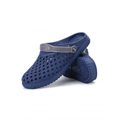 Male Hollow Out Breathable Casual Slippers Beach Sandals