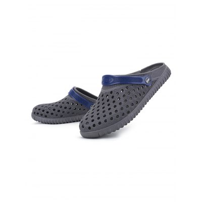 Male Hollow Out Breathable Casual Slippers Beach SandalsMens Slippers<br>Male Hollow Out Breathable Casual Slippers Beach Sandals<br><br>Contents: 1 x Pair of Slippers<br>Materials: PVC, TPU<br>Occasion: Casual<br>Package Size ( L x W x H ): 31.00 x 18.50 x 11.00 cm / 12.2 x 7.28 x 4.33 inches<br>Package Weights: 0.33kg<br>Seasons: Summer<br>Style: Leisure<br>Type: Slippers