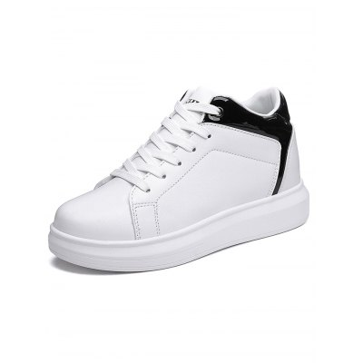 Comfortable Casual Platform Ladies Elevator ShoesWomens Sneakers<br>Comfortable Casual Platform Ladies Elevator Shoes<br><br>Contents: 1 x Pair of Shoes<br>Materials: PU<br>Occasion: Casual, Daily<br>Package Size ( L x W x H ): 33.00 x 22.00 x 11.00 cm / 12.99 x 8.66 x 4.33 inches<br>Package Weights: 0.830kg<br>Seasons: Autumn,Spring,Winter<br>Style: Leisure, Fashion<br>Type: Flat Shoes