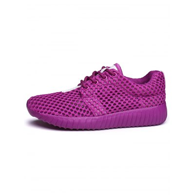Lace-up Mesh Breathable Sports Shoes for WomenWomens Sneakers<br>Lace-up Mesh Breathable Sports Shoes for Women<br><br>Contents: 1 x Pair of Shoes<br>Materials: EVA, Mesh<br>Occasion: Casual<br>Package Size ( L x W x H ): 33.00 x 22.00 x 11.00 cm / 12.99 x 8.66 x 4.33 inches<br>Package Weights: 0.63kg<br>Seasons: Summer<br>Style: Leisure, Comfortable<br>Type: Casual Shoes