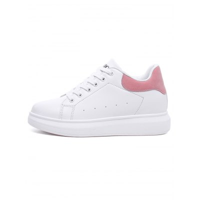 Women Casual PU Height Increasing ShoesWomens Sneakers<br>Women Casual PU Height Increasing Shoes<br><br>Contents: 1 x Pair of Shoes<br>Materials: PU<br>Occasion: Casual<br>Package Size ( L x W x H ): 33.00 x 22.00 x 11.00 cm / 12.99 x 8.66 x 4.33 inches<br>Package Weights: 0.82kg<br>Seasons: Summer<br>Style: Leisure, Fashion, Comfortable<br>Type: Casual Shoes