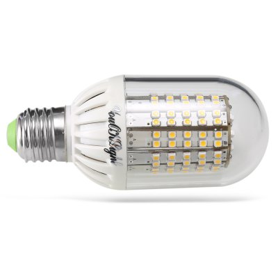 YouOKLight YK1124 E27 8W LED Bulb LightCorn Bulbs<br>YouOKLight YK1124 E27 8W LED Bulb Light<br><br>Available Light Color: Warm White<br>Brand: YouOKLight<br>CCT/Wavelength: 3000K<br>Certifications: CE,FCC,RoHs<br>Emitter Types: SMD 3528<br>Features: Energy Saving<br>Function: Studio and Exhibition Lighting, Home Lighting, Commercial Lighting<br>Holder: E27<br>Luminous Flux: 700 lumens<br>Output Power: 8W<br>Package Contents: 1 x LED Bulb Light<br>Package size (L x W x H): 13.50 x 6.00 x 6.00 cm / 5.31 x 2.36 x 2.36 inches<br>Package weight: 0.1120 kg<br>Product size (L x W x H): 12.50 x 5.00 x 5.00 cm / 4.92 x 1.97 x 1.97 inches<br>Product weight: 0.0880 kg<br>Sheathing Material: PBT, PC<br>Total Emitters: 138<br>Type: Ball Bulbs<br>Voltage (V): AC 110-250