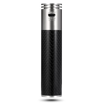 SMOKJOY Cfiber 100W PLUS ModMechanical Mods<br>SMOKJOY Cfiber 100W PLUS Mod<br><br>Accessories type: MOD<br>Battery Capacity: 3000mAh<br>Brand: SMOKJOY<br>Material: Carbon Fiber, Stainless Steel<br>Model: Cfiber 100W PLUS<br>Package Contents: 1 x Mod, 1 x USB Cable, 1 x English User Manual<br>Package size (L x W x H): 12.50 x 6.30 x 3.60 cm / 4.92 x 2.48 x 1.42 inches<br>Package weight: 0.2170 kg<br>Product size (L x W x H): 10.60 x 2.40 x 2.40 cm / 4.17 x 0.94 x 0.94 inches<br>Product weight: 0.1210 kg<br>Type: Electronic Cigarettes Accessories