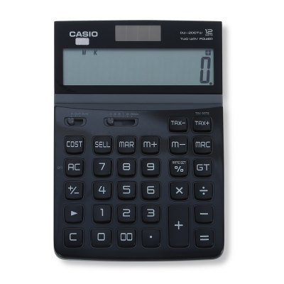 CASIO DW - 200TW - BK Electronic Desktop Calculator