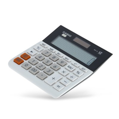 CASIO MH - 12 - WE Electronic Desktop Calculator