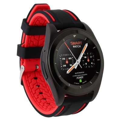 NO.1 G6 Bluetooth 4.0 SmartwatchSmart Watches<br>NO.1 G6 Bluetooth 4.0 Smartwatch<br><br>Alert type: Vibration<br>Available Color: Black,Silver<br>Band material: Silicone<br>Band size: 22 x 2.2 cm<br>Battery  Capacity: 380mAh<br>Bluetooth calling: Dialing,Phone call reminder<br>Bluetooth Version: Bluetooth 4.0<br>Brand: NO.1<br>Built-in chip type: MTK2502<br>Case material: Stainless Steel<br>Compatible OS: IOS, Android<br>Dial size: 4.5 x 4.5 x 1 cm / 1.77 x 1.77 x 0.39 inches<br>Health tracker: Heart rate monitor,Pedometer,Sedentary reminder,Sleep monitor<br>Language: English,French,German,Italian,Portuguese,Portuguese (Brazil),Russian,Spanish,Turkish<br>Messaging: Message reminder<br>Notification type: Facebook, Twitter<br>Operating mode: Touch Screen, Press button<br>Other Function: Alarm<br>Package Contents: 1 x NO.1 G6 Sports Smart Watch, 1 x Charging Cable, 1 x Chinese-English User Manual<br>Package size (L x W x H): 10.00 x 8.00 x 6.80 cm / 3.94 x 3.15 x 2.68 inches<br>Package weight: 0.1750 kg<br>People: Male table<br>Product size (L x W x H): 25.00 x 4.50 x 1.00 cm / 9.84 x 1.77 x 0.39 inches<br>Product weight: 0.0550 kg<br>Remote control function: Remote Camera, Remote music<br>ROM: 32MB<br>Screen resolution: 240 x 240<br>Screen size: 1.2 inch<br>Shape of the dial: Round<br>Type of battery: Polymer Lithium Battery<br>Wearing diameter: 12 - 18 cm