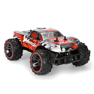 RUI CHUANG QY1841A 1:12 Brushed Off-road RC Car - RTRRC Cars<br>RUI CHUANG QY1841A 1:12 Brushed Off-road RC Car - RTR<br><br>Age: Above 8 years old<br>Brand: RUI CHUANG<br>Car Power: 5 x 1.5V AA battery ( not included )<br>Channel: 4-Channels<br>Detailed Control Distance: About 50m<br>Drive Type: RWD ( rear-wheel drive )<br>Features: Radio Control<br>Material: Electronic Components, PVC, TPR, ABS<br>Motor Type: Brushed Motor<br>Package Contents: 1 x RC Car, 1 x Transmitter, 1 x English Manual<br>Package size (L x W x H): 45.50 x 28.00 x 21.00 cm / 17.91 x 11.02 x 8.27 inches<br>Package weight: 1.6000 kg<br>Product size (L x W x H): 33.50 x 23.00 x 13.50 cm / 13.19 x 9.06 x 5.31 inches<br>Product weight: 0.9550 kg<br>Proportion: 1:12<br>Racing Time: 10-12mins<br>Remote Control: 2.4GHz Wireless Remote Control<br>Speed: 18km/h ( maximum )<br>Transmitter Power: 1 x 9V battery ( not included )<br>Type: Off-Road Car