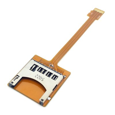 CY EP - 076 Portable Micro SD TF Card Kit Male to SD Female Extension Cable Extender for GPS Tablet PC