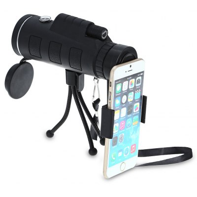 40 x 60mm Monocular Telescope with Compass / Cellphone Clip