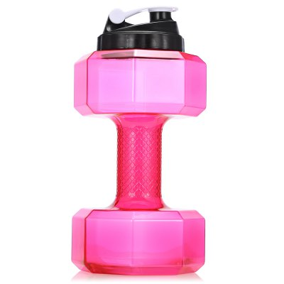 CTSmart Creative Fitness Dumbbell Leakproof 2.2L Water BottleOther Camping Gadgets<br>CTSmart Creative Fitness Dumbbell Leakproof 2.2L Water Bottle<br><br>Brand: CTSmart<br>Capacity: 2.2L<br>Package Contents: 1 x CTSmart Water Bottle<br>Package size (L x W x H): 31.00 x 16.00 x 16.00 cm / 12.2 x 6.3 x 6.3 inches<br>Package weight: 0.3400 kg<br>Product size (L x W x H): 30.00 x 15.00 x 15.00 cm / 11.81 x 5.91 x 5.91 inches<br>Product weight: 0.2920 kg
