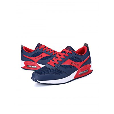 Fashion Mesh Lace Up Men ShoesHiking Shoes<br>Fashion Mesh Lace Up Men Shoes<br><br>Closure Type: Lace-Up<br>Features: Breathable, Light weight, Shock-absorbing<br>Gender: Men<br>Package Contents: 1 x Pair of Shoes<br>Package size: 31.00 x 18.50 x 11.00 cm / 12.2 x 7.28 x 4.33 inches<br>Package weight: 0.5900 kg<br>Product weight: 0.4400 kg<br>Season: Spring, Autumn<br>Type: Running Shoes