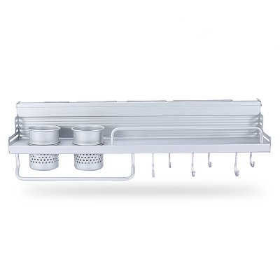 Kitchen Wall Mounted Storage Rack Knife HolderOther Kitchen Accessories<br>Kitchen Wall Mounted Storage Rack Knife Holder<br><br>Available Color: Silver<br>Material: Aluminium<br>Package Contents: 1 x Kitchen Rack<br>Package size (L x W x H): 61.00 x 14.70 x 12.70 cm / 24.02 x 5.79 x 5 inches<br>Package weight: 0.8470 kg<br>Product size (L x W x H): 60.00 x 14.00 x 9.50 cm / 23.62 x 5.51 x 3.74 inches<br>Type: Other Kitchen Accessories