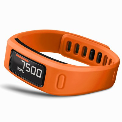 Garmin Vivofit Bluetooth SmartbandSmart Watches<br>Garmin Vivofit Bluetooth Smartband<br><br>Alert type: Vibration<br>Band material: Synthetic Resin<br>Band size: 21 x 1.2 cm<br>Battery  Capacity: 120mAh<br>Bluetooth Version: Bluetooth 4.0<br>Brand: GARMIN<br>Case material: Synthetic Resin<br>Compatability: Android 4.3 and iOS 7.0 above<br>Compatible OS: IOS, Android<br>Dial size: 4.15 x 2.1 x 1 cm<br>Groups of alarm: 5<br>Health tracker: Heart rate monitor,Pedometer,Sedentary reminder,Sleep monitor<br>IP rating: IP67<br>Operating mode: Touch Key<br>Other Function: Bluetooth<br>Package Contents: 1 x Garmin Vivofit Smartband, 1 x Replaceable Wristband, 1 x Bluetooth Adapter<br>Package size (L x W x H): 17.20 x 7.00 x 7.00 cm / 6.77 x 2.76 x 2.76 inches<br>Package weight: 0.1340 kg<br>People: Female table,Male table<br>Product size (L x W x H): 21.00 x 2.10 x 1.00 cm / 8.27 x 0.83 x 0.39 inches<br>Product weight: 0.0225 kg<br>RAM: 16MB<br>ROM: 64MB<br>Screen: LCD<br>Screen resolution: 240 x 240<br>Screen size: 1.22 inch<br>Shape of the dial: Rectangle<br>Standby time: 1 year<br>Type of battery: Li-Mn button cell<br>Wearing diameter: 15.5 - 20 cm