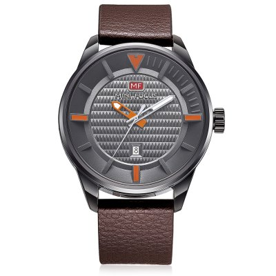 MINIFOCUS MF0026G Quartz Watch for MenMens Watches<br>MINIFOCUS MF0026G Quartz Watch for Men<br><br>Band material: Genuine Leather<br>Band size: 24.50 x 2.20 cm / 9.65 x 0.86 inches<br>Brand: MINI FOCUS<br>Case material: Alloy<br>Clasp type: Pin buckle<br>Dial size: 4.60 x 4.60 x 1.20 cm / 1.81 x 1.81 x 0.47 inches<br>Display type: Analog<br>Movement type: Quartz watch<br>Package Contents: 1 x MINIFOCUS Male Quartz Watch<br>Package size (L x W x H): 26.00 x 5.00 x 3.00 cm / 10.24 x 1.97 x 1.18 inches<br>Package weight: 0.1300 kg<br>Product size (L x W x H): 24.50 x 4.60 x 1.20 cm / 9.65 x 1.81 x 0.47 inches<br>Product weight: 0.0680 kg<br>Shape of the dial: Round<br>Watch style: Fashion<br>Watches categories: Male table<br>Water resistance : Life water resistant<br>Wearable length: 16.00 - 20.00 cm / 6.29 - 7.87 inches