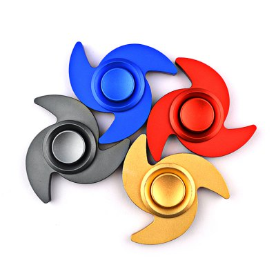 Tri-wing Spinning Blade Aluminum Alloy Fidget SpinnerFidget Spinners<br>Tri-wing Spinning Blade Aluminum Alloy Fidget Spinner<br><br>Center Bearing Material: Stainless Steel<br>Color: Black<br>Frame material: Aluminum Alloy<br>Package Contents: 1 x Fidget Spinner, 1 x Box<br>Package size (L x W x H): 9.00 x 9.00 x 2.30 cm / 3.54 x 3.54 x 0.91 inches<br>Package weight: 0.0930 kg<br>Product size (L x W x H): 6.80 x 6.80 x 1.25 cm / 2.68 x 2.68 x 0.49 inches<br>Product weight: 0.0400 kg<br>Swing Numbers: Tri-Bar<br>Type: Triple Blade