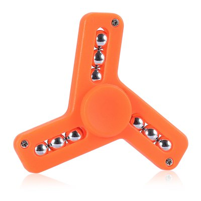 Three-leaf ABS Fidget Tri-spinnerFidget Spinners<br>Three-leaf ABS Fidget Tri-spinner<br><br>Color: Orange<br>Frame material: ABS<br>Package Contents: 1 x Fidget Spinner<br>Package size (L x W x H): 8.40 x 8.40 x 2.70 cm / 3.31 x 3.31 x 1.06 inches<br>Package weight: 0.0390 kg<br>Product size (L x W x H): 7.40 x 7.40 x 1.70 cm / 2.91 x 2.91 x 0.67 inches<br>Product weight: 0.0280 kg<br>Swing Numbers: Tri-Bar<br>Type: Triple Blade