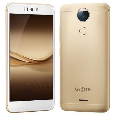 Geotel AMIGO 4G SmartphoneCell phones<br>Geotel AMIGO 4G Smartphone<br><br>2G: GSM 1800MHz,GSM 1900MHz,GSM 850MHz,GSM 900MHz<br>3G: WCDMA B1 2100MHz,WCDMA B8 900MHz<br>4G LTE: FDD B1 2100MHz,FDD B20 800MHz,FDD B3 1800MHz,FDD B7 2600MHz,FDD B8 900MHz<br>Additional Features: Calculator, Browser, Bluetooth, Alarm, 4G, 3G, People, Calendar, Fingerprint recognition, Fingerprint Unlocking, GPS, MP3, MP4<br>Back-camera: 13.0MP<br>Battery Capacity (mAh): 3000mAh<br>Battery Type: Non-removable<br>Bluetooth Version: V4.0<br>Brand: GEOTEL<br>Camera type: Dual cameras (one front one back)<br>Cell Phone: 1<br>Cores: Octa Core, 1.3GHz<br>CPU: MTK6753 64bit<br>English Manual : 1<br>External Memory: TF card up to 256GB<br>Front camera: 5.0MP<br>Games: Android APK<br>Google Play Store: Yes<br>GPU: Mali-T720<br>I/O Interface: Micophone, 2 x Micro SIM Card Slot, 3.5mm Audio Out Port, TF/Micro SD Card Slot, Micro USB Slot, Speaker<br>Language: Multi language<br>Music format: FLAC, AMR, WMA, WAV, OGG, MP3, AAC<br>Network type: FDD-LTE,GSM,WCDMA<br>OS: Android 7.0<br>Package size: 16.20 x 9.75 x 6.23 cm / 6.38 x 3.84 x 2.45 inches<br>Package weight: 0.3750 kg<br>Picture format: JPG, JPEG, GIF, BMP, PNG<br>Power Adapter: 1<br>Product size: 15.06 x 7.45 x 0.93 cm / 5.93 x 2.93 x 0.37 inches<br>Product weight: 0.1530 kg<br>RAM: 3GB RAM<br>ROM: 32GB<br>Screen resolution: 1280 x 720 (HD 720)<br>Screen size: 5.2 inch<br>Screen type: 2.5D Arc Screen<br>Sensor: Ambient Light Sensor,Gravity Sensor,Proximity Sensor<br>Service Provider: Unlocked<br>SIM Card Slot: Dual SIM, Dual Standby<br>SIM Card Type: Micro SIM Card<br>Type: 4G Smartphone<br>USB Cable: 1<br>Video format: 3GP, AVI, MP4, WMV<br>Video recording: Yes<br>WIFI: 802.11a/b/g/n wireless internet<br>Wireless Connectivity: A-GPS, GPS, 4G, Bluetooth, NFC, WiFi, 3G