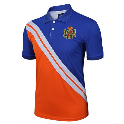 LUCKY SAILING Sports Polo ShirtMens Short Sleeve Tees<br>LUCKY SAILING Sports Polo Shirt<br><br>Fabric Type: Polyester<br>Package Content: 1 x Polo Shirt<br>Package size: 30.00 x 25.00 x 1.50 cm / 11.81 x 9.84 x 0.59 inches<br>Package weight: 0.2070 kg<br>Product size: 79.00 x 59.00 x 0.50 cm / 31.1 x 23.23 x 0.2 inches<br>Product weight: 0.1750 kg<br>Season: Summer, Spring, Autumn<br>Sleeve Length: Short Sleeves