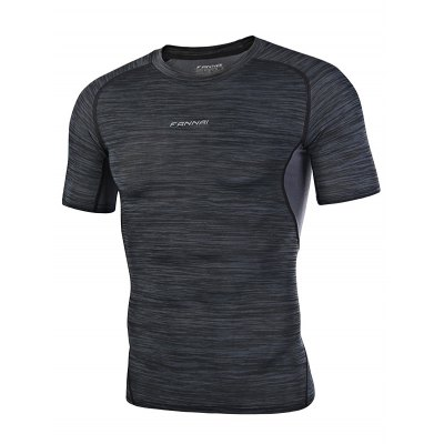 FANNAI FN101 Men Running T ShirtWeight Lifting Clothes<br>FANNAI FN101 Men Running T Shirt<br><br>Features: Quick Dry, Breathable, High elasticity<br>Gender: Men<br>Material: Polyester<br>Package Content: 1 x T Shirt<br>Package size: 30.00 x 25.00 x 1.50 cm / 11.81 x 9.84 x 0.59 inches<br>Package weight: 0.1970 kg<br>Product size: 71.00 x 49.00 x 0.50 cm / 27.95 x 19.29 x 0.2 inches<br>Product weight: 0.1700 kg<br>Type: Short Sleeves