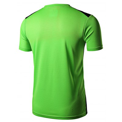 FANNAI FN24 Men Running T ShirtWeight Lifting Clothes<br>FANNAI FN24 Men Running T Shirt<br><br>Features: Breathable, Quick Dry<br>Gender: Men<br>Material: Polyester<br>Package Content: 1 x T Shirt<br>Package size: 30.00 x 25.00 x 1.50 cm / 11.81 x 9.84 x 0.59 inches<br>Package weight: 0.2020 kg<br>Product size: 75.00 x 54.00 x 0.50 cm / 29.53 x 21.26 x 0.2 inches<br>Product weight: 0.1750 kg