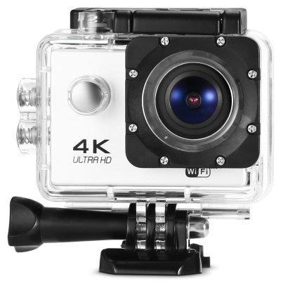 L2000 4K WiFi Action Sports CameraAction Cameras<br>L2000 4K WiFi Action Sports Camera<br><br>Aerial Photography: No<br>Anti-shake: No<br>Application: Bike<br>Auto Focusing: No<br>Battery Capacity (mAh): 1050mAh<br>Battery Type: Removable<br>Camera Timer: Yes<br>Charge way: USB charge by PC<br>Charging Time: 1 - 2h<br>Chipset: Novatek 96660<br>Chipset Name: Novatek<br>Features: Wireless<br>Function: WiFi, Waterproof, Camera Timer<br>Image Format : JPG<br>Max External Card Supported: TF 64G (not included)<br>Model: L2000<br>Night vision : No<br>Package Contents: 1 x Action Camera, 1 x Waterproof Housing + Screw + Mount, 1 x Power Adapter, 1 x English User Manual, 1 x Clip, 1 x Frame, 1 x Bicycle Mount, 1 x J-shaped Mount, 3 x Connector + Screw, 1 x Tripod Ada<br>Package size (L x W x H): 27.50 x 17.30 x 7.00 cm / 10.83 x 6.81 x 2.76 inches<br>Package weight: 0.5420 kg<br>Product size (L x W x H): 5.90 x 4.10 x 3.00 cm / 2.32 x 1.61 x 1.18 inches<br>Product weight: 0.0590 kg<br>Screen: With Screen<br>Screen resolution: 640 x 240<br>Screen size: 2.0inch<br>Standby time: 90 minutes at 1080P<br>Type: Sports Camera<br>Type of Camera: 4K<br>Video format: MP4<br>Video Frame Rate: 120fps,24fps,30FPS,60FPS<br>Video Resolution: 1080P(30fps),1080P(60fps),4K (24fps),720P (120fps),720P (60fps)<br>Water Resistant: 30m ( with waterproof case )<br>Waterproof: Yes<br>Wide Angle: 170 degree wide angle<br>WIFI: Yes<br>WiFi Distance : About 10m<br>Working Time: 2h