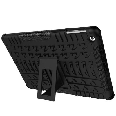Double-protection Back Case with Bracket for iPad 5 / iPad AirTablet Accessories<br>Double-protection Back Case with Bracket for iPad 5 / iPad Air<br><br>Accessory type: Back Case<br>Compatible models: For iPad<br>Features: Back Cover, Double-protection<br>For: Tablet PC<br>Package Contents: 1 x Back Case<br>Package size (L x W x H): 26.00 x 19.00 x 2.70 cm / 10.24 x 7.48 x 1.06 inches<br>Package weight: 0.2700 kg<br>Product size (L x W x H): 24.60 x 17.50 x 1.20 cm / 9.69 x 6.89 x 0.47 inches<br>Product weight: 0.2320 kg