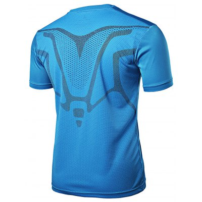 FANNAI FN07 Men Training T ShirtWeight Lifting Clothes<br>FANNAI FN07 Men Training T Shirt<br><br>Features: Breathable, High elasticity, Quick Dry<br>Gender: Men<br>Material: Polyester<br>Package Content: 1 x T Shirt<br>Package size: 30.00 x 25.00 x 1.50 cm / 11.81 x 9.84 x 0.59 inches<br>Package weight: 0.2020 kg<br>Product size: 76.00 x 57.00 x 0.50 cm / 29.92 x 22.44 x 0.2 inches<br>Product weight: 0.1750 kg<br>Types: Short Sleeves