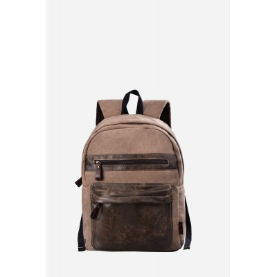 Douguyan 15.6 inch Fashion Men Students BackpackBackpacks<br>Douguyan 15.6 inch Fashion Men Students Backpack<br><br>Brand: Douguyan<br>Color: Black,Brown<br>Material: Canvas<br>Package Size(L x W x H): 39.00 x 17.00 x 47.00 cm / 15.35 x 6.69 x 18.5 inches<br>Package weight: 0.7000 kg<br>Packing List: 1 x Backpack<br>Product Size(L x W x H): 38.00 x 16.00 x 46.00 cm / 14.96 x 6.3 x 18.11 inches<br>Product weight: 0.5700 kg<br>Style: Fashion, Casual<br>Type: Backpacks