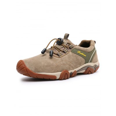 Men Anti-slip Hiking ShoesHiking Shoes<br>Men Anti-slip Hiking Shoes<br><br>Contents: 1 x Pair of Shoes<br>Materials: Suede<br>Occasion: Casual<br>Package Size ( L x W x H ): 33.00 x 22.00 x 11.00 cm / 12.99 x 8.66 x 4.33 inches<br>Package Weights: 0.780kg<br>Product Size  ( L x W x H ): 33.00 x 22.00 x 11.00 cm / 12.99 x 8.66 x 4.33 inches<br>Seasons: Autumn,Spring,Summer<br>Style: Comfortable<br>Type: Hiking Shoes